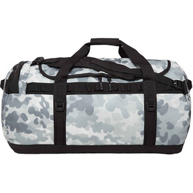 The North Face Base Camp Duffel L TNF White Macrofleck Camo Print/TNF Black